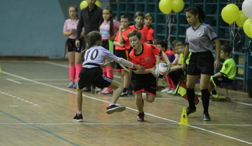 Команда 89-й школы триумфатор Кубка Одессы по регби-5