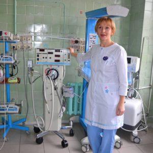Приобретён аппарат вентиляции лёгких в детскую больницу